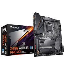 Placa Mãe GIGABYTE Z490 AORUS PRO AX 1.1 DDR4 LGA1200 10ª Geração Intel GIGABYTE -