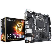 Placa Mãe H310N 2.0 Intel LGA 1151 Mini-ITX DDR4 GIGABYTE -