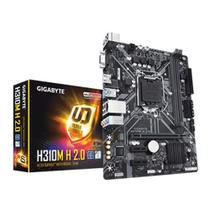 Placa Mãe (INTEL) Gigabyte H310M H 2.0 DDR4 LGA 1151 8º E 9 Geração -