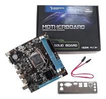 Placa Mãe Para Intel Lga1155 2x Ddr3 6 Usb 2.0 Vga/hdmi H61 - Maxxdigital