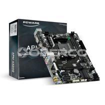 Placa-mae Pcware P/ Amd Ryzen Matx Apm-a320g, 2xddr4 32gb, Hdmi, Vga, 2x Pcie, 1xpci X16, Usb 3.0 -