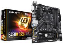 Placa mae socket amd am4 gigabyte b450m ds3h m-atx ddr4 3200mhz hdmi m.2 usb 3.1 -