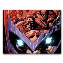 Placa  MDF  20 cm x 30 cm - Magneto X-men Avengers Vingadore - Bd cases