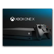 Placa  MDF  20 cm x 30 cm - Xbox One X S Xone (BD12) - Bd Cases