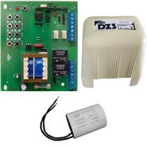 Placa Motor Portão Eletrônico Sensor Hall Compatível Rossi MX30 KXH30FS KX30FS Carenagem Capacitor 25UF 127V - IPEC
