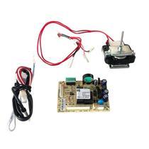 Placa original refrigerador electrolux df46 df49 220v com sensor e motor ventilador -