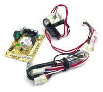 Placa original refrigerador electrolux df47 df50 df50x dfw50 dw49 220v com sensor e motor ventilador -