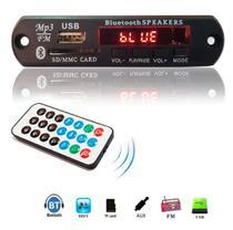 Placa P/ Amplificador - Modulo USB Mp3 Bluetooth Muda Pasta - Import Ts