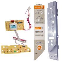Placa Painel e adesivo Compatível Máquina Lavar roupa Brastemp TURBO BWC10A BWG10A 10KG  versão 1 - CP Placas