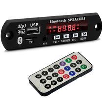 Placa para Amplificador Módulo BT-373 80W RMS Bluetooth USB Cartão de Memória SD Auxiliar P2 MP3 - Prime
