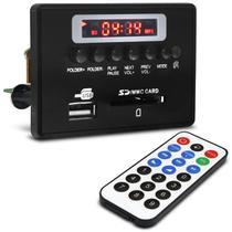 Placa para Amplificador Módulo G377 80 RMS Bluetooth USB Cartão de Memória SD FM com Controle Remoto - Ultra