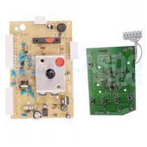 Placa Potência e Interface Compatível Máquina de Lavar Electrolux Turbo Capacidade LT12F BIVOLT - Cp placas - wl placas
