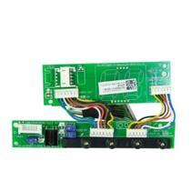 Placa receptora display hw - inverter - springer midea 9/12/18/24000 btu/h - código: 17122000a15520 -