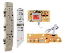Placa suporte e adesivo compatível Máquina Lavar Brastemp BWC10A VERSÃO 3 BIVOLT - Cp Placas