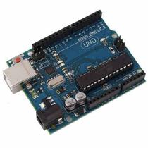 Placa Uno R3 DIP Atmega328 Sem Cabo Usb compatível para Arduino -