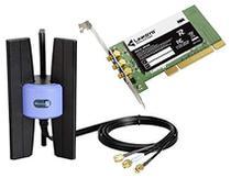 Placa Wireless Cisco-Linksys PCI - WMP300N -