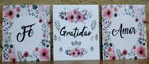 placas decoração kits frases motivacionais auto ajuda orações - Rc Decorações