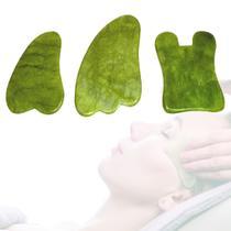 Placas Massageadoras Gua Sha Pedra Natural - Wapshop
