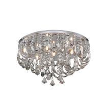 Plafon Arcos de Cristal 7 Lâmpadas Transparente Hevy -