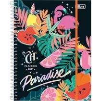Planner capricho paradise 2021 c/ 80 folhas - Tilibra