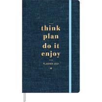 Planner Costurado Agenda 2021 Cambridge M5 Tilibra -