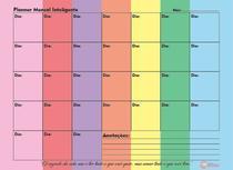 Planner Mensal Caderno Inteligente Compatível A.I 120g UN PM - Papelaria Marche