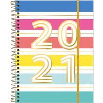 Planner semanal 2021 espiral 80 fls Be Nice M7 Tilibra -