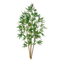Planta Artificial Árvore Bambu Verde Galho Verde 1,5m - Florescer Decor