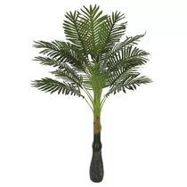 Planta Artificial Árvore Palmeira Verde 1,2m - Florescer Decor