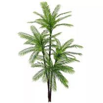 Planta Artificial Árvore Palmeira Verde 1,57m - Florescer Decor