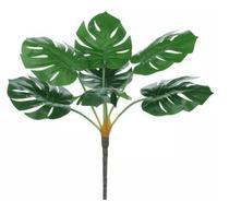 Planta Árvore Artificial Costela-de-Adão Real Toque Verde 60cm - Florescer Decor