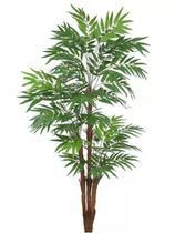 Planta Árvore Artificial Palmeira Phoenix Texturizado Verde 1,77m - Florescer Decor