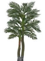 Planta Árvore Artificial Palmeira Real Toque Verde 1,67m - Florescer Decor