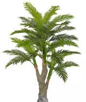 Planta Árvore Artificial Palmeira Real Toque Verde 2 Tons 1,67m - Florescer Decor