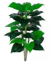 Planta Árvore Artificial Philodendron Real Toque Verde em 2 Tons 90cm - Florescer Decor