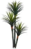 Planta Árvore Artificial Yucca 3 Troncos Verde Escuro 1,7m - Florescer Decor