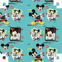 Plastico Adesivo 45CMX10M Mickey PVC (7899785525012) - V.M.P.