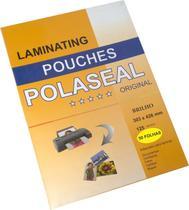 Plastico Para Plastificação Polaseal Tamanho A3 125 Micron Pacote com 50 Plásticos - Prolan