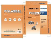 Plastico Para Platificação Polaseal A3 - 303x426 0.05  100 Unidades - Plastfix