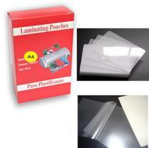 Plásticos para Plastificação Polaseal Espessura 0,05 Tamanhos Diversos - Mbset