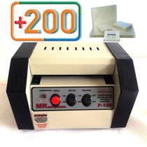 Plastificadora Crachá P-180 + Polaseal 200 Rg E 1000 Crachá - OkayShop
