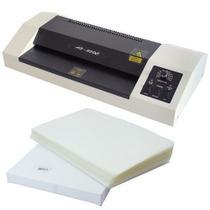 Plastificadora Laminadora Ofício 230c Bopp + 100 Polaseal A4 - OkayShop