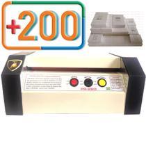 Plastificadora Profissional PS-280 Com 100 RG e 100 CGC - Gold Maquina