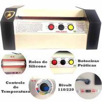 Plastificadora Ps-280 + 900 Polaseal Diversos Tamanhos - Gold maquina