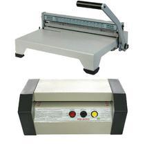 Plastificadora PS-280 Profissional tamanho A-4 / encadernadora e material - Goldmaq