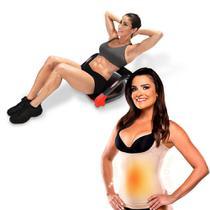 Plataforma Abdominal Ab Max Genis e GANHE 1 Shape Now T-Shirt Feminina Nude -