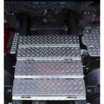 Plataforma Chassi Scania S4 S5 S6 Diant. Alumínio Furação - Bepo