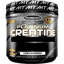 Platinum 100 creatina (400g) - muscletech -