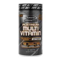Platinum multi vitamin 90 cápsulas muscletech -