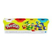 Play doh 4 potes sortidos b5517 - Hasbro